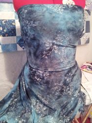645# Smokey Teal and Silver