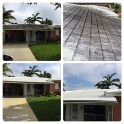 Roof Pressure Cleaning