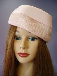 Vintage Pale Pink Pill Box Jackie O