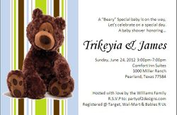 """A """"Beary Special Baby"""""""