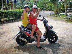 Roatan Scooter Day
