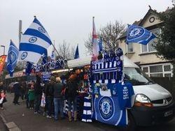 Chelsea FC street vendor
