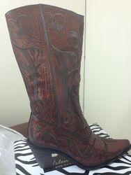 Brown/bronze Boots