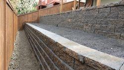 Beaverton Retaining Wall Installation
