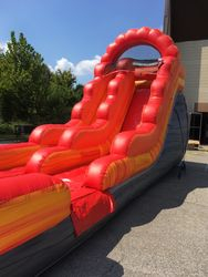 15' Volcano wet or dry slide
