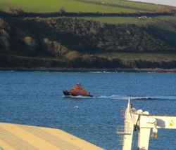 Rosslare Lifeboat in Falmouth