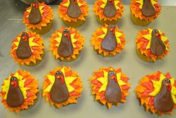 turkey cupcakes $5 each