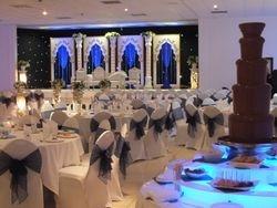 Muslim wedding chocolate fountain hire
