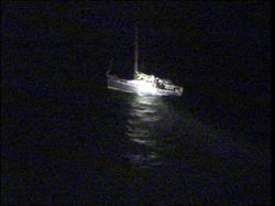 Early morning launch for Rosslare RNLI to assist yacht entangled in fishing rope