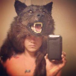 Wolf headdress 3 2014