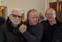 Al Marshall, Bob Barratt, Mal Sanders