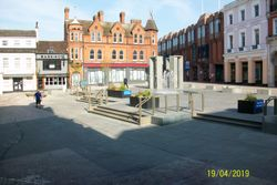 Cornhill - New Layout with Four Gateways Sculpture