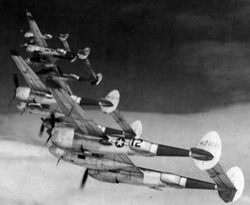 P-38 Lightning:
