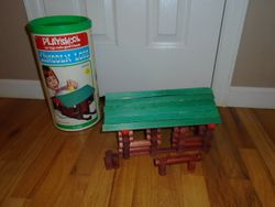 Lincoln Logs Vintage 1974 Scout Set- 90 pcs - $20