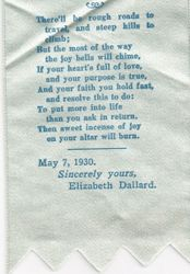 Speck School Souvenir from 1930 - Part 2