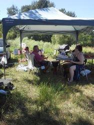 Camping for Lughnassadh 2013