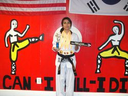 06-03-2012  Championships  Assistant  Instructor  Dennise Bartra  1st place Forms , 1 st place Breaking , 1 st place Weapons , 1 st place Fighting Womens Grand Champion