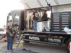 ordon's Dakar support truck
