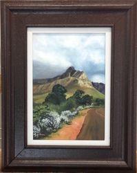 Cloth over Table Mountain (framed)