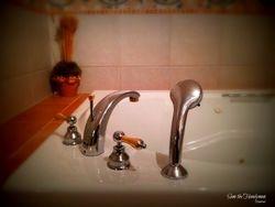 Bathtub 3/way faucet installation