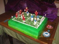 Cake 05A1- Football Cake