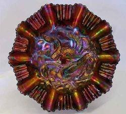 Farmyard 3 in 1 edge bowl - purple