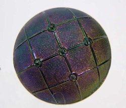 Veiling hatpin, purple