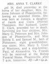 Clarke, Anna Thompson 1962