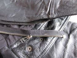 And remove one side of old zip