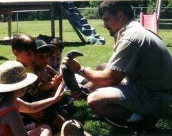 Mangrove Monitor and Kids