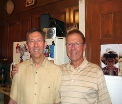 Dennis and Jim Herman