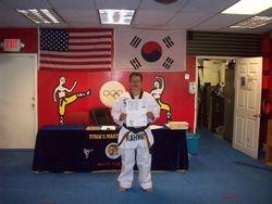 Alonso Gaviria black belt class of 2011