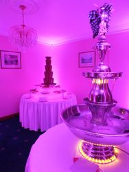 Vodka Beverage Fountain Hire Leeds 21st Birthday house party.