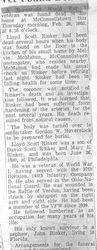 Rinker, Lloyd S. - Part 1 - 1963