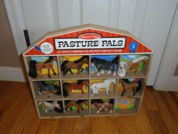 Melissa & Doug Pasture Pals Collectible Horses With Barn - $10