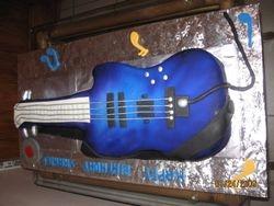 Cake 10A1 - Guitar Cake