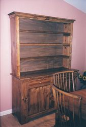 Large Stepback Cupboard