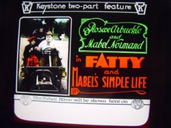 1915 FATTY AND MABEL'S SIMPLE LIFE