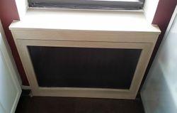 Kitchen radiator cover