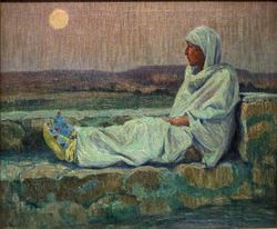 Couse, Moonlight in Taos, 1910-30, Denver