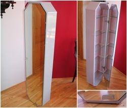 Vonios, kambario, kipyklos firmine DUSCHOLUX ORIGINAL spintele veidrodinemis durimis. Kaina 67 Eur.
