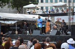Pharoah Sanders Jazz Festival Detriot