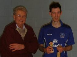 Handicap Tournament Mens Singles Winner