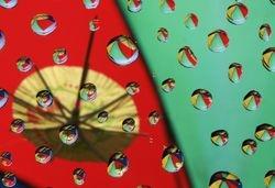 Cocktail Umbrella & Reflections v2