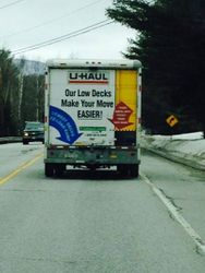 U-Hauling the curtains back to Wardsboro