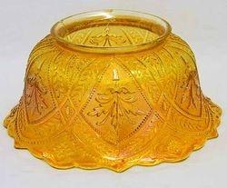 Olympus lampshade marigold