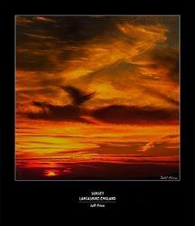 Sunset, Lancashire, England 2