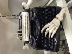 Skelletal Typewriter