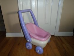 Todays Kids Doll Stroller With Removable Doll Carrier - $15