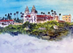 "Hearst Castle, ""Castle in the Clouds"""